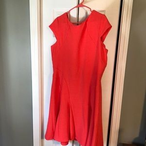 Pink orange causal / summer dress